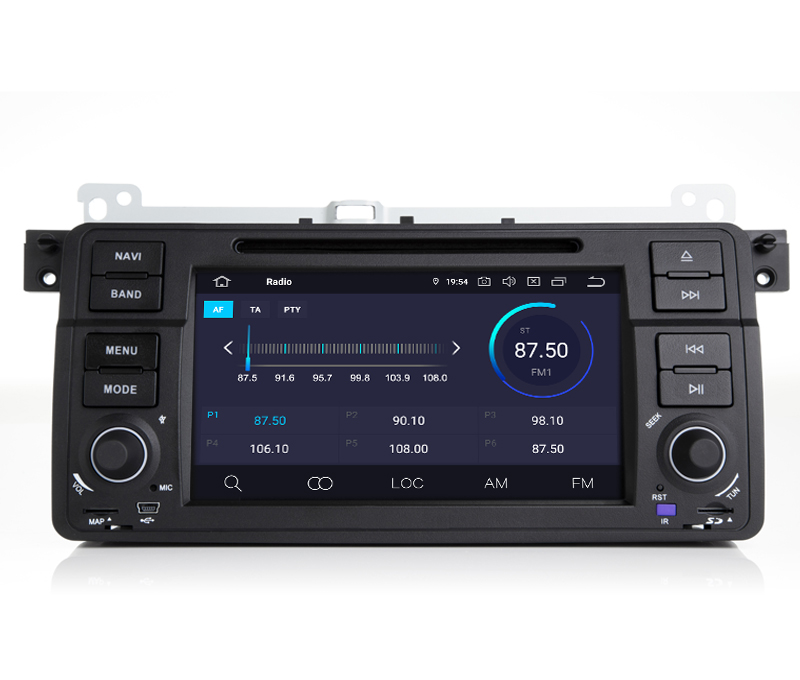 Flash Deal COIKA Android 9.0 System Car Head Unit 2+16G RAM For BMW 3 Series E46 MG ZT Rover 75 GPS Navi Stereo WIFI Google 1080P Video SWC 3