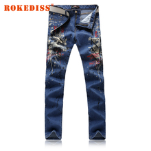 New products Men s clothing Slim blue jeans high quality pantalones hombre vaqueros jeans uomo mens