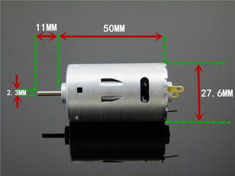 Dc 6v / 12v / 24v 6500/13000 / 26000rpm High Speed Motor Micro Motor Drill Motor