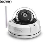 GADINAN CamHi APP 1080P 2MP WiFi IP Camera Outdoor Waterproof Security Wireless Onvif CCTV Cam 2.8mm P2P TF Card Slot Up to 128G