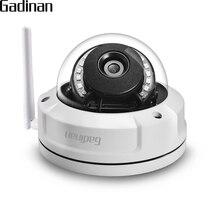 GADINAN CamHi アプリ 1080 1080P 2MP WiFi IP カメラ Hi3518EV200 utdoor 防水セキュリティワイヤレス Onvif 2.8 ミリメートル P2P TF カードスロットアップ