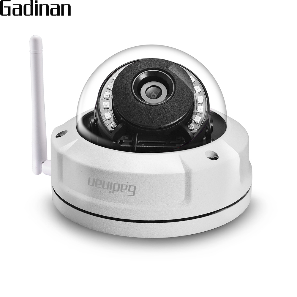 GADINAN CamHi APP 1080P 2MP WiFi IP Camera Outdoor Waterproof Security Wireless Onvif CCTV Cam 2.8mm P2P TF Card Slot Up to 128G hd 720p 1080p wifi ip camera 960p outdoor wireless onvif p2p cctv surveillance bullet security camera tf card slot app camhi