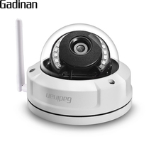 GADINAN cámara IP CamHi APP 1080P 2MP WiFi Hi3518EV200 utdoor, seguridad impermeable, inalámbrica, Onvif 2,8mm P2P, ranura para tarjeta TF