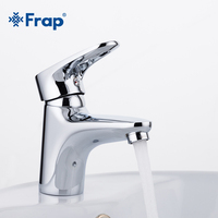 1 Set Bathroom Faucet Torneira Mixer Tap Single Lever Cold And Hot Water Tap Brass Body