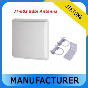 RFID UHF 8dBi RFID Circular polarization Antennas (865-868MHZ,902-928MHZ) 865 868mhz or 902 928mhz customized abs material waterproof linear circular polarization high gain 12dbi rfid uhf antenna