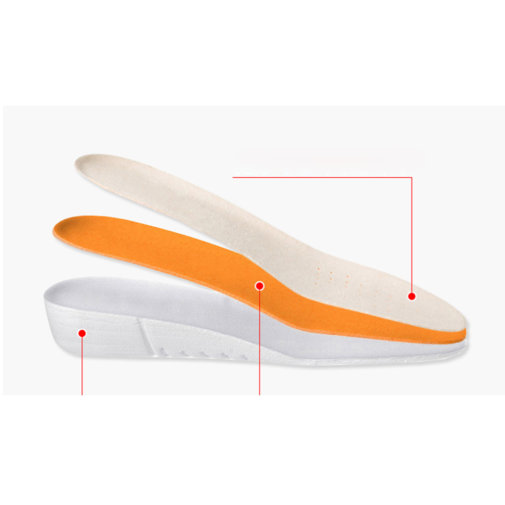 Summer Cushion Insoles Female Anti-slip Thickening Wicking Fiber Stretch Deodorization Increase Breathable Foldable Shockproof