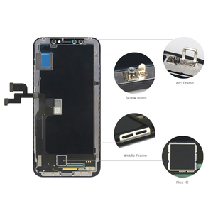 Image 4 - AAA++ OEM TFT OLED Display For iphone X XR XS XS MAX LCD Screen Touch Digitizer Assembly Replacement For Tianma iphone X LCD