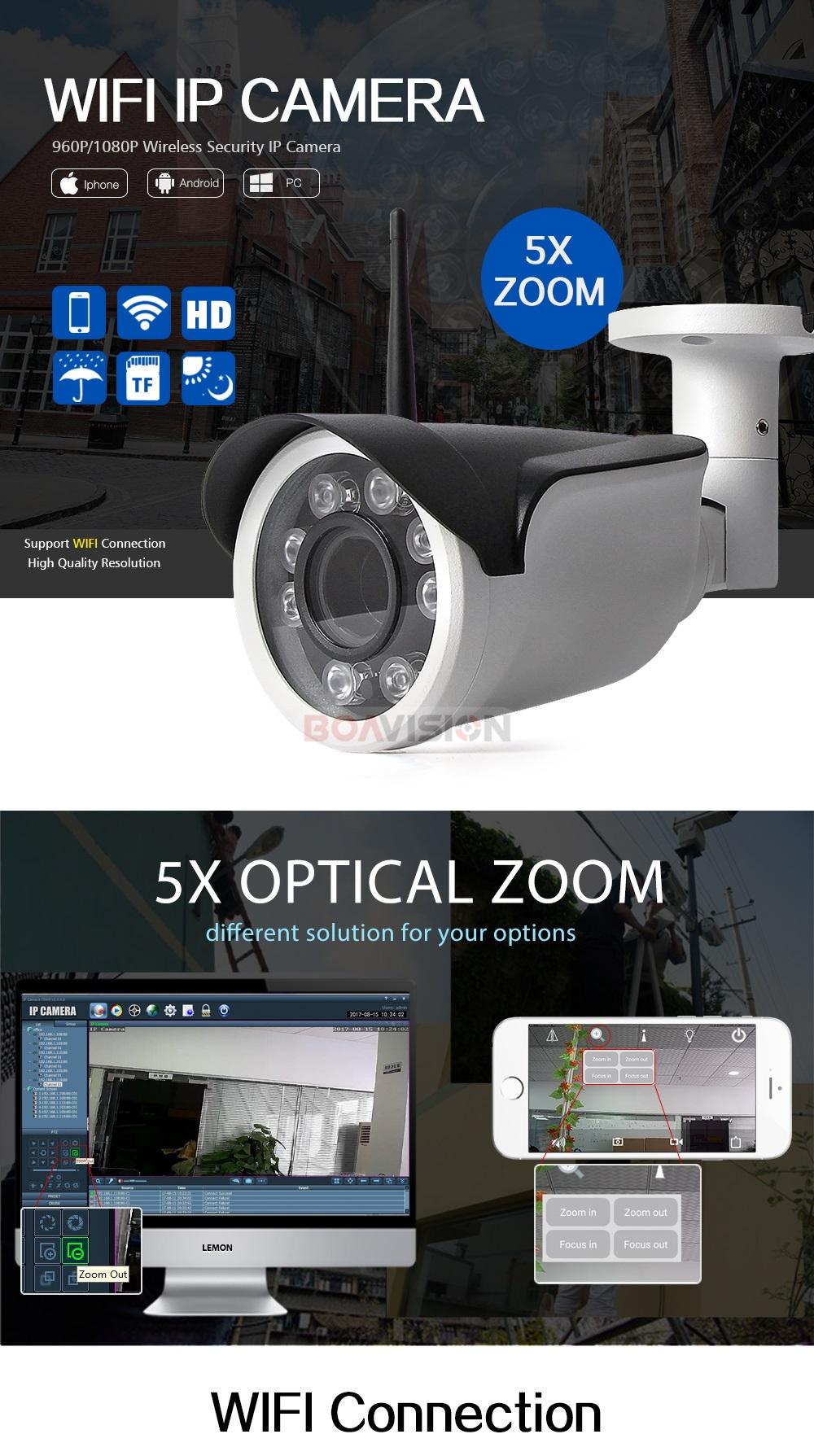 PTZ Bullet IP Camera