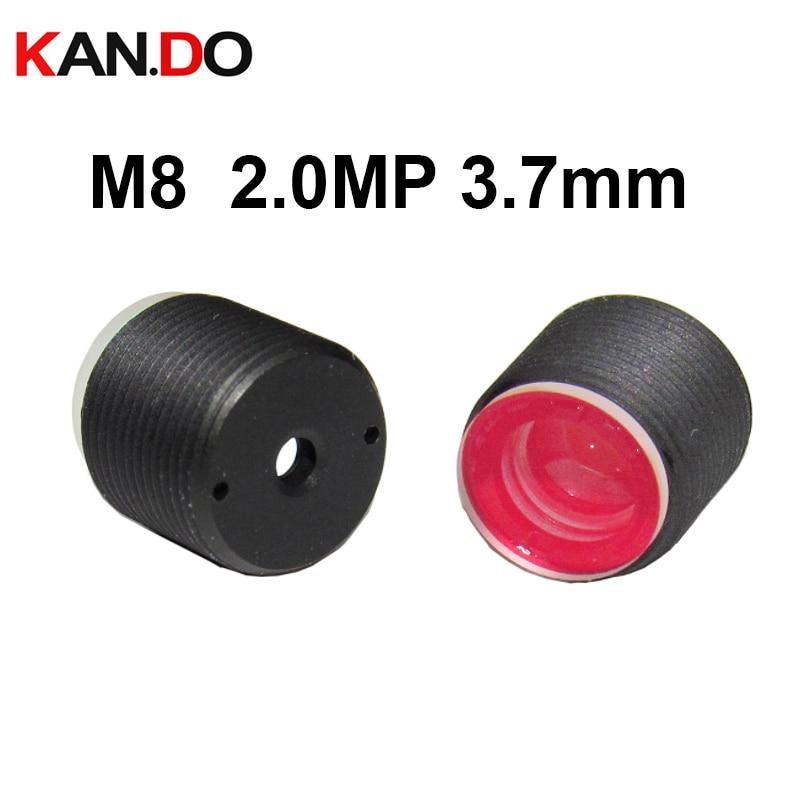 Lens 2.0Megapixel Mini 3.7mm M8 Lens Mini CCTV Camera Lens C F2.0 1/3