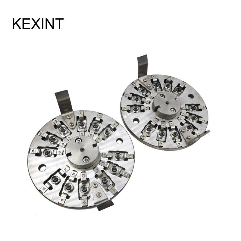 Machine de polissage de connecteur de fibre d'équipement de polissage de Machine de meulage de KEXINT/10 pièces