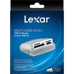 Image 5 - Lexar мульти карта 25 в 1 считыватель смарт карт памяти USB 3,0 500 МБ/с./с компактный TF SD CF кардридер для ноутбука аксессуары камеры