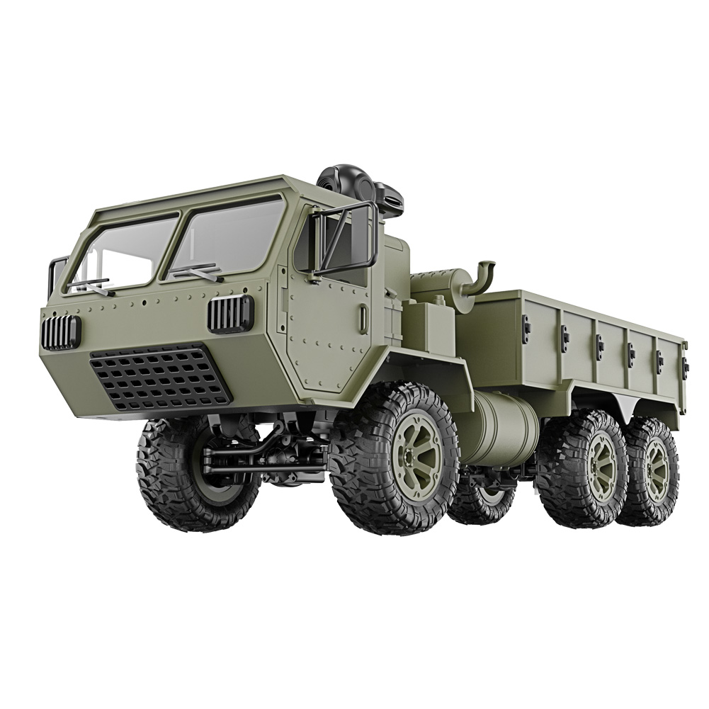 1/16 2.4G 6WD RC Car Proportional Control Army Military Truck Model Toys Kids Gift @ZJF1/16 2.4G 6WD RC Car Proportional Control Army Military Truck Model Toys Kids Gift @ZJF