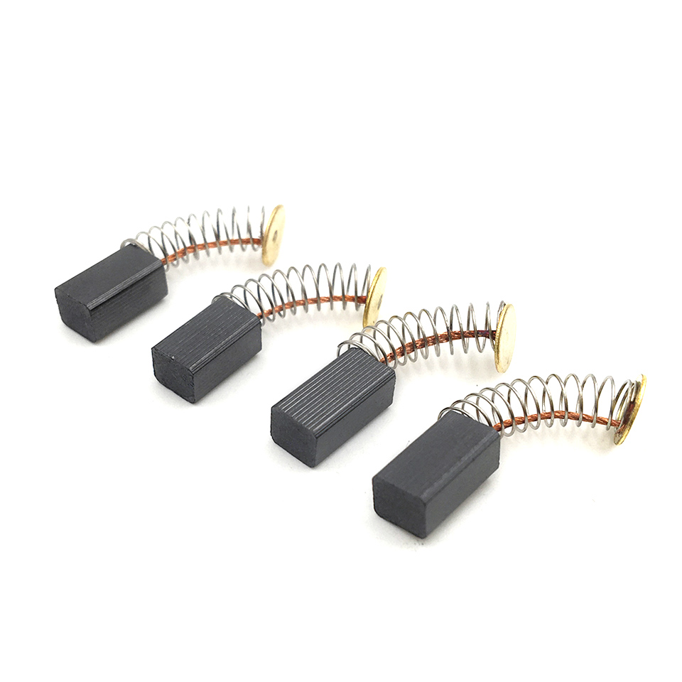 10 Pairs Mini Drill Replacement Carbon Brushes Power Tools Accessories for Dremel Rotary Tools Carbon brush For Dremel Accessory 2pcs carbon brushes for bosch drill planer screwdriver saw 5x8x15 5mm 1 pair