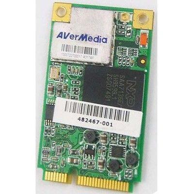 Wireless Adapter Card for HP DV6 AVerMedia A317 Hybrid TV Turner card FM Card 482467-001 Anlog/ATSC(China)