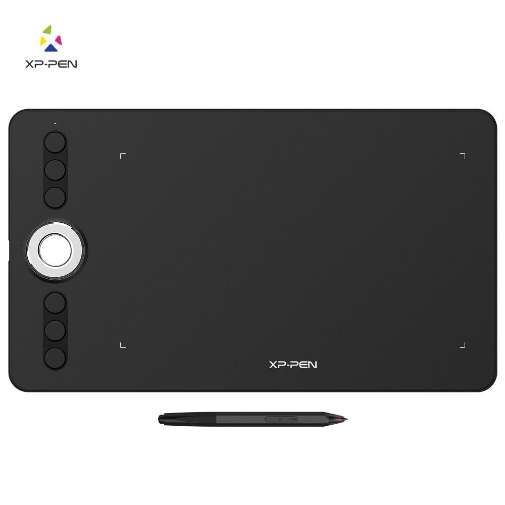 XP-Penna Deco 02 Grafica disegno Tablet Pen Tablet con P06 Batteria-trasporto Passivo Dello Stilo e tasti di scelta rapida (8192 livelli di pressione)