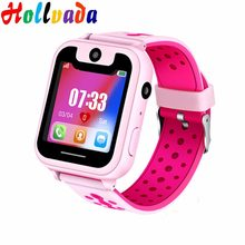 Smart watch LBS Kid Camera SmartWatches Baby SIM Watch for Children SOS Call Location Finder Locator Tracker Anti Lost Monitor(China)