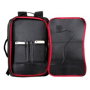 Image 3 - Haweel Flexible Solar Panel Backpacks Convenience Charging Laptop Bags for Travel 14W Solar Charger Daypacks &Handle &USB Port