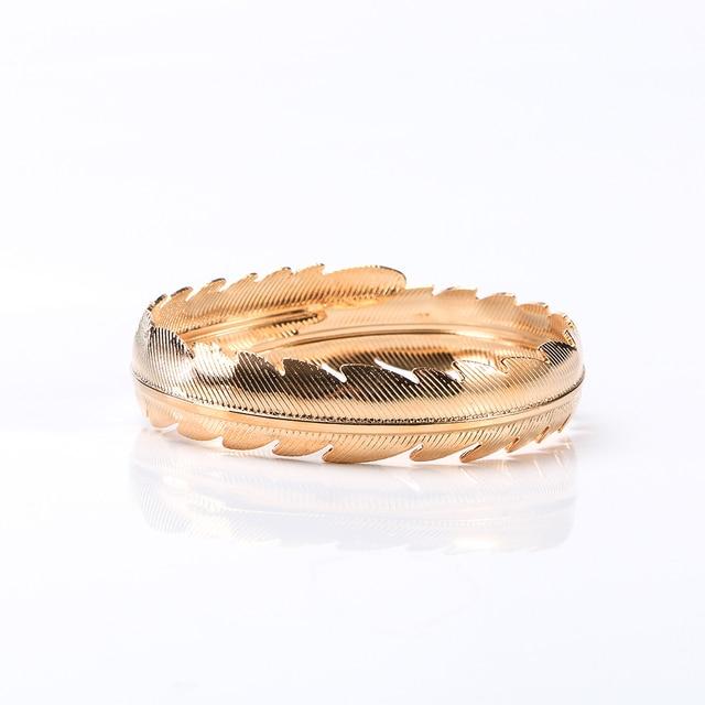Novo indiano redemoinho folha seta pena pulseira braçadeira braço superior manguito braço nupcial amor bangle manguito indiano jóias