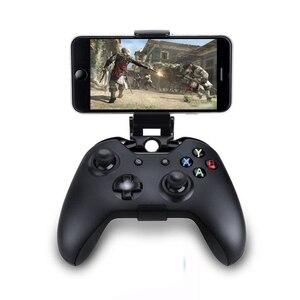 Image 2 - スマートフォンクランプ/ゲームクリップフィットマイクロソフトxbox oneスリムコントローラ携帯電話ホルダーxbox one sゲームパッドジョイパッド