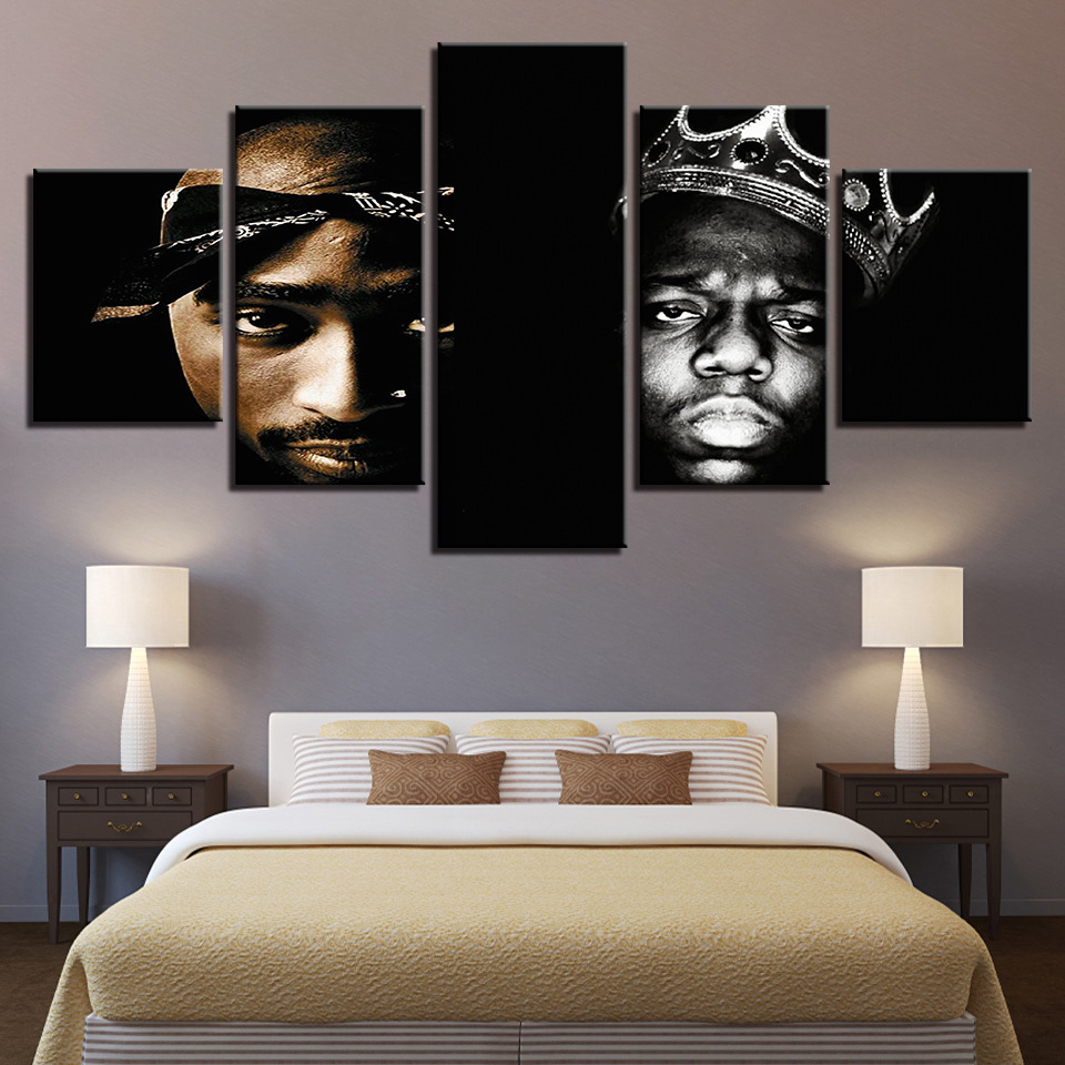 Famous Singer Bone Thugs n Harmony movie Modern Pictures Wall Art Canvas Oil Painting for Living Room Home Decor Framed Office