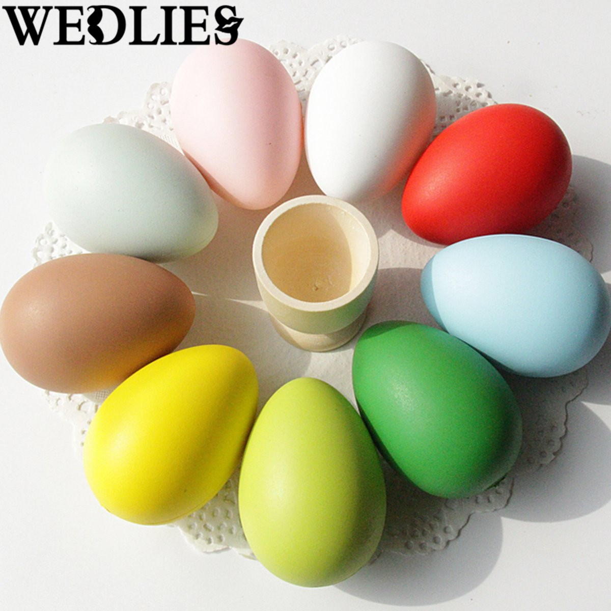 Wholesale easter gifts best oval easter basket with wholesale awesome pcs bright colors plastic easter eggs simulation easter events party diy decorative gadgets assortment toy gifts ornamentin party diy decorations negle Gallery