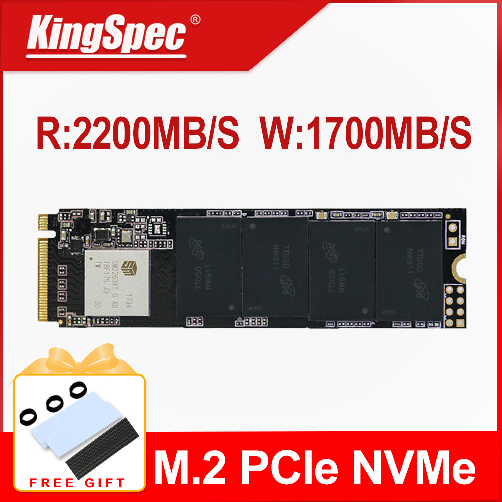 KingSpec M2 SSD M.2 PCIE SSD M2 240GB NVME 2280 128GB 256GB 512GB 1TB Internal disk 240 GB Solid State Drive for laptop netbook(China)