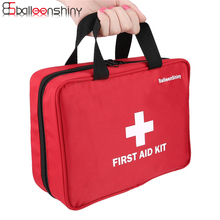 ФОТО BalleenShiny Portable Empty First Aid Kit Drug Storage Bag Emergency Medical Kit Survival Bag Travel Oudoor Organizer 24188cm