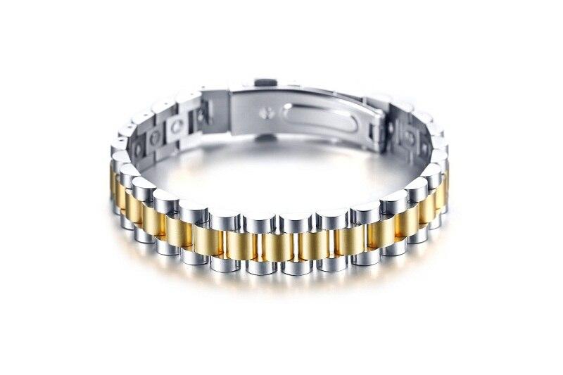 Bracelet santé énergétique 26 pièces 99.999% Bracelet Germanium haute pureté Bracelet thérapie acier inoxydable pour femmes hommes cadeau