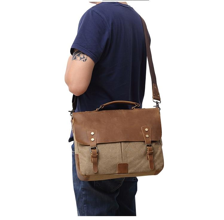 shoulder bag with laptop sleeve