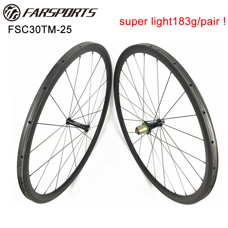 High End Extralite hubs wheels with Sapim spokes , China carbon road bicycle wheelset 30mm deep 25mm wide , OEM customized цена