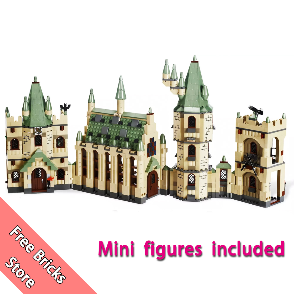 1290 Pcs 16030 Compatible 4842 Harry Potter Hogwarts Castle 3D Mini Figures Model Building Blocks Kits Toys For Children ollin professional bionika интенсивная маска против выпадения волос intensive mask anti hair loss 450 мл