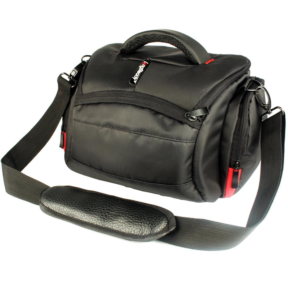 Waterproof Camera Bag For Nikon D5500 D5300 D3400 D7100 D3100 Canon EOS 750D 80D 100D 5D Mark ii Camera Canon DSLR Bag Case huwang multifunction dslr camera backpack bag case for nikon d7200 d7100 d5300 d3400 d90 sony a7 ii iii canon 750d 200d lens bag