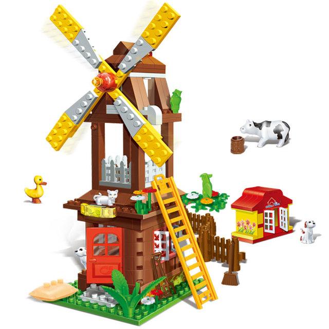 Farm House Blocks Set