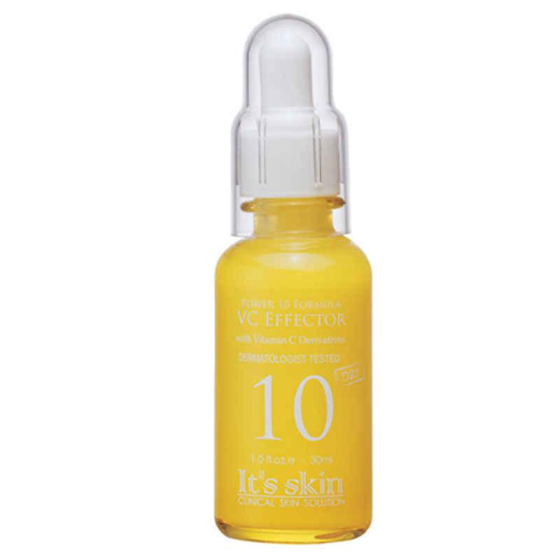 É PELE de Energia 10 Fórmula VC Effector [Vitamina C] 30 ml Creme Para o Rosto Cuidados Com A Pele Soro Anti Rugas endurecimento Hidratante Clareador