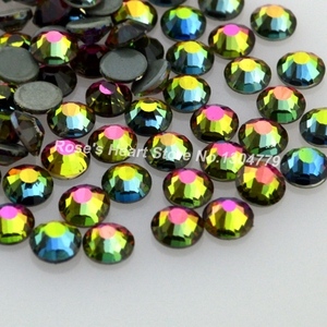 2018 100PCS  for nail art decorations beauty 3d glitter rhinestones nails supplies jewelry gem 2mm 3mm 4mm 5mm 6mm