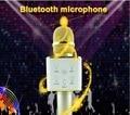 Лучший Мини Q7 Беспроводной Микрофон Karaoke player Party главная КТВ Пение Запись магия Bluetooth Динамик Для IOS Android Смартфон