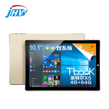 10.1 Pulgadas Teclast Tbook10 Dual OS Windows 10 + Android 5.1 de la Tableta PC 4 GB/64 GB Intel Trail Atom Cereza X5 Z8300 Tbook 10 1920×1200