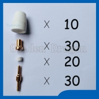 Fondle Admiringly Nozzle Electrodes TIPS Spare Parts Spare Parts Plasma Cutter Cutting Nozzle For Welding Chinese