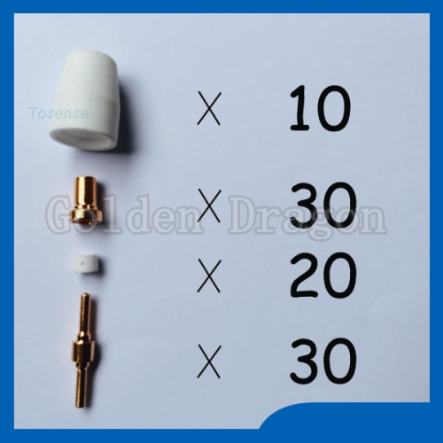 SALEWELL Fondle admiringly nozzle electrodes TIPS Spare parts spare parts Plasma Cutter Cutting nozzle for welding