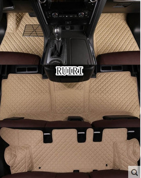 Best quality mats! Special car floor mats for Nissan Patrol Y62 7 seats 2020-2011 waterproof durable car carpets for Patrol 2018