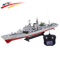 RC Boat 1:275 WarShip Remote Control Military Naval Vessels Remote Control Destroyer Ship Model For Children Gift Hobby Toys