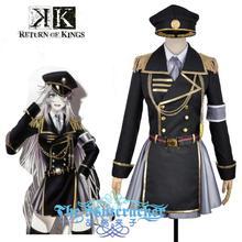 Anime K Return Of Kings Neko Military Uniform Outfit Cosplay Costume Custom Made 6/lot