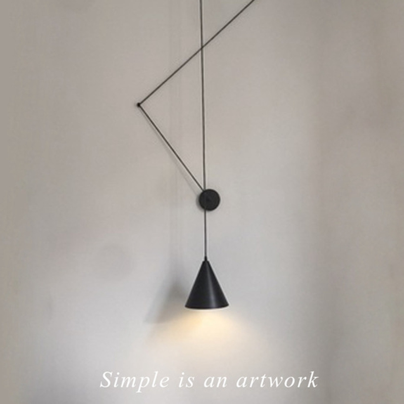 Creative Modern Pendant Lamp Light LED DIY Long Cord Hanging Lamp Metal Lampshade Lighting Fixtures Bedroom Dining Cafe Bar Club цена
