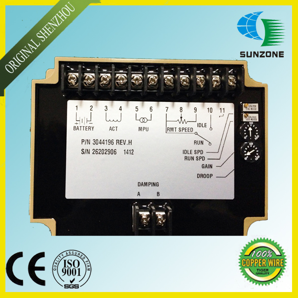 Free Shipping Electronic Governor Speed Control Unit 3044196 diesel engine speed control unit 3044196
