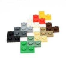 DIY blocks 2 x 2 Corner plate 300pcs creator toys MOC 2420 compatible Building bricks Educational for kids marumine plate 8 x 16 boys and girls toys compatible building blocks set base plate diy classic educational bricks