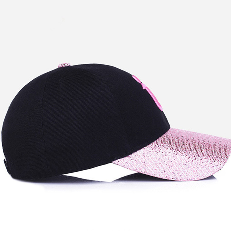 XdanqinX 2019 New Style Fashion Hip Hop Cap Lady Baseball Caps Snapback Summer Sun Visor Shines Duck Tongue Cap For Adult Women in Women 39 s Baseball Caps from Apparel Accessories