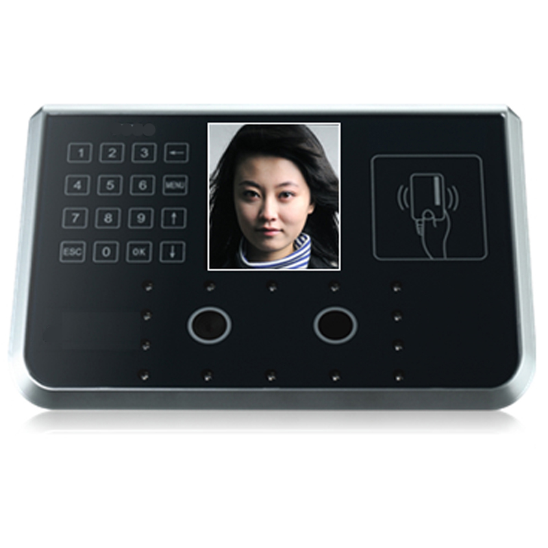 F910 Hanvon Face Recognition System for Time Attendance & Access Control Support 2K Face & 10K None Face User & RFID Card Read