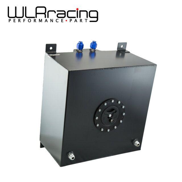 WLRING магазин - черный Алюминиевый топливный расширительный бачок с крышкой/пеной внутрь топливного элемента 40л без датчика типа wlr-TK21BK