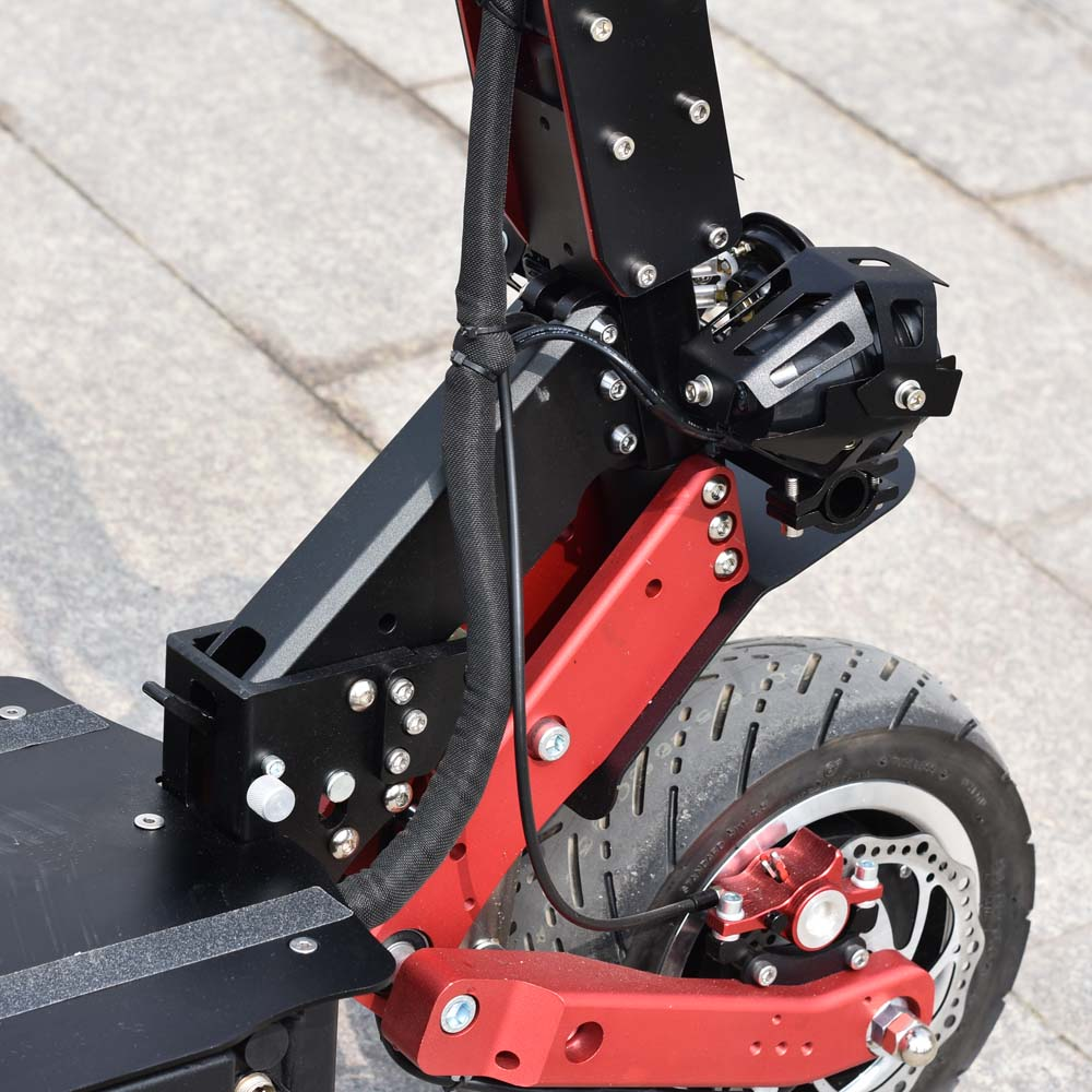Ville scooter meilleur scooter bon marché citycoco 2 roue fat tire vélo électrique 3200 W 60 V avec Voltmètre - 6