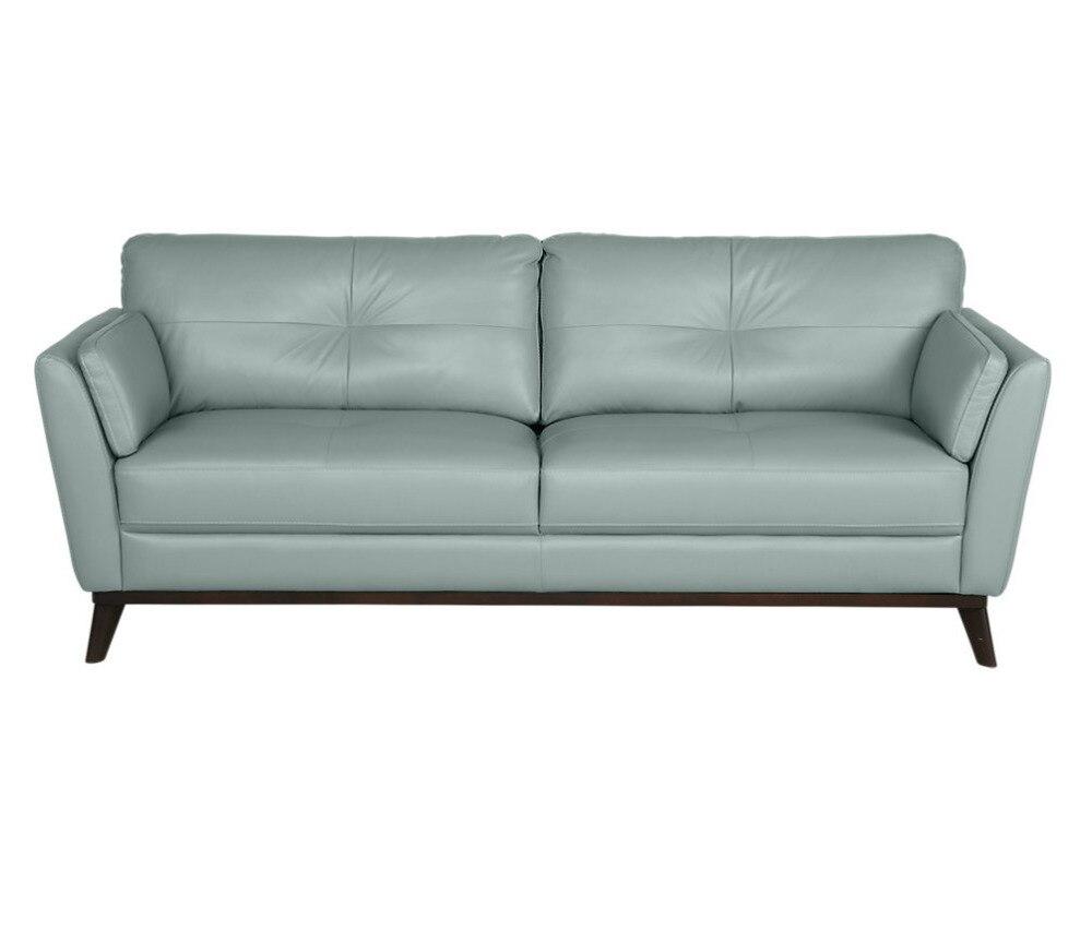 Living Room Sofa set furniture real genuine cow leather sofas puff asiento muebles de sala canape 3 seater shape sofa cama